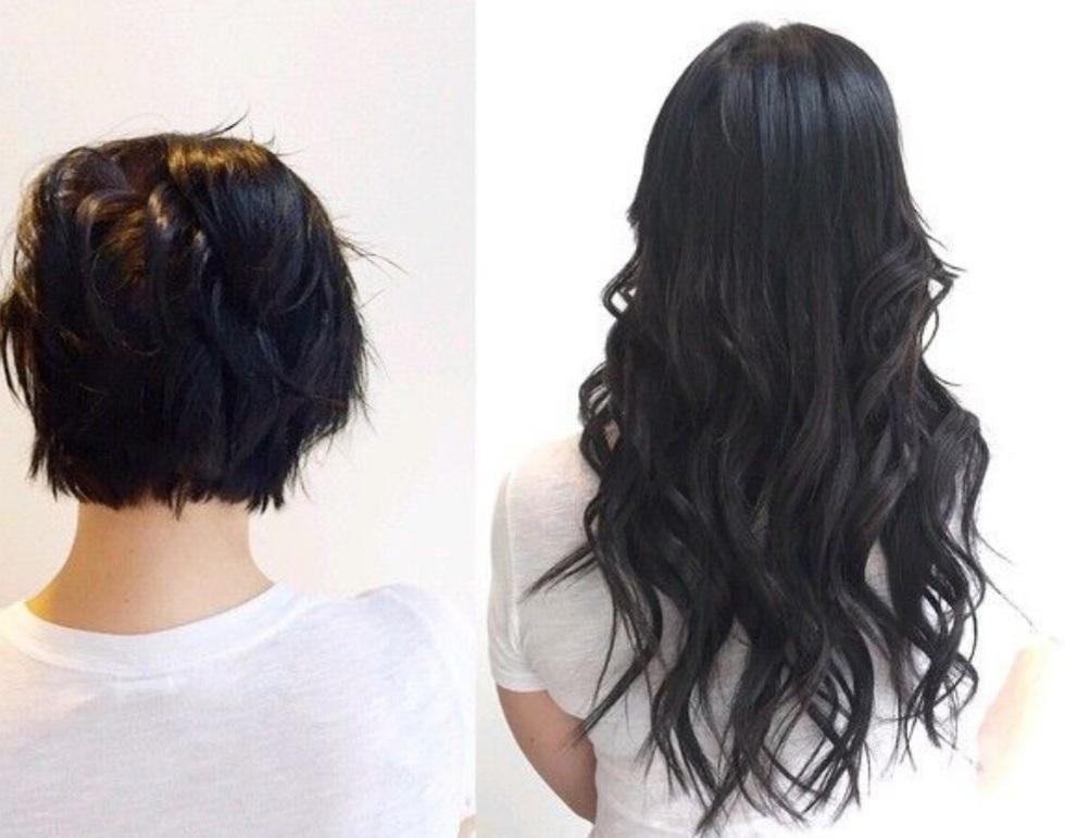Cyrille D. Extensions de cheveux Kératine